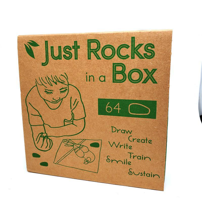 Just Rocks in Box (32 Unique Colors, 2 of Each) by Crayon Rocks