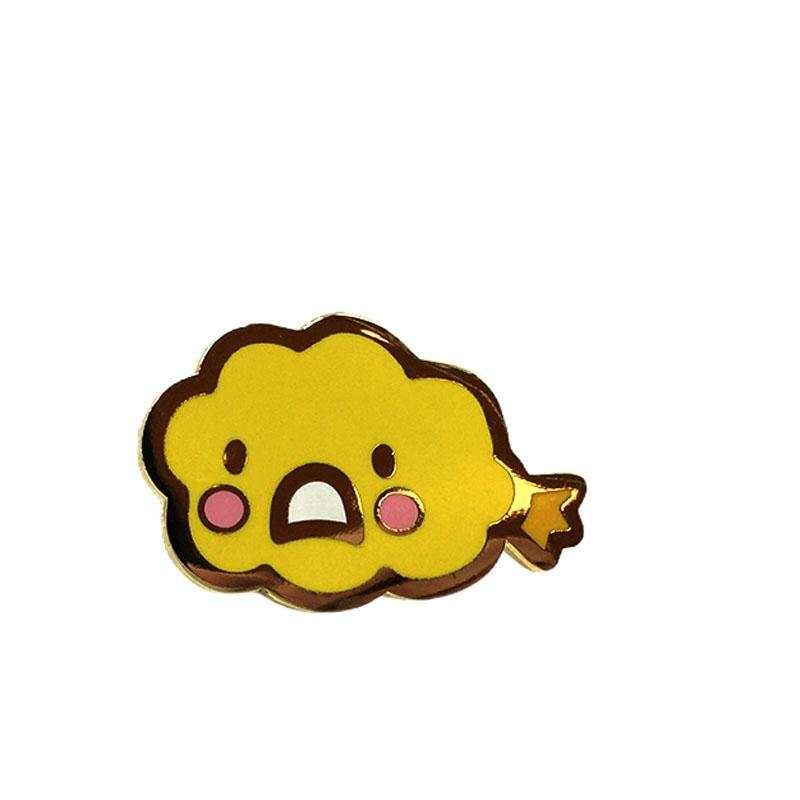 Enamel Pin - Sad Tempura by Mis0 Happy