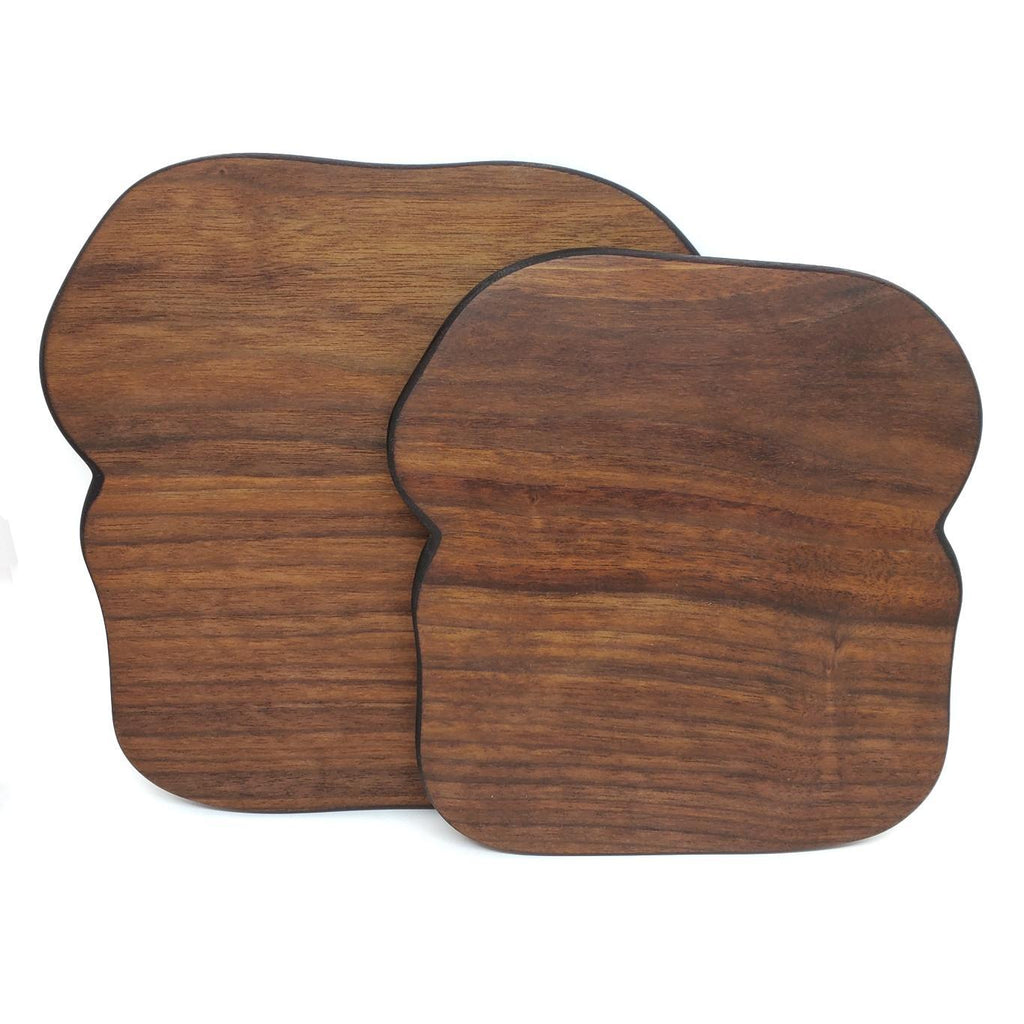 Toast Serving Board - Walnut - Large or X-Large by Meb's Kitchenwares