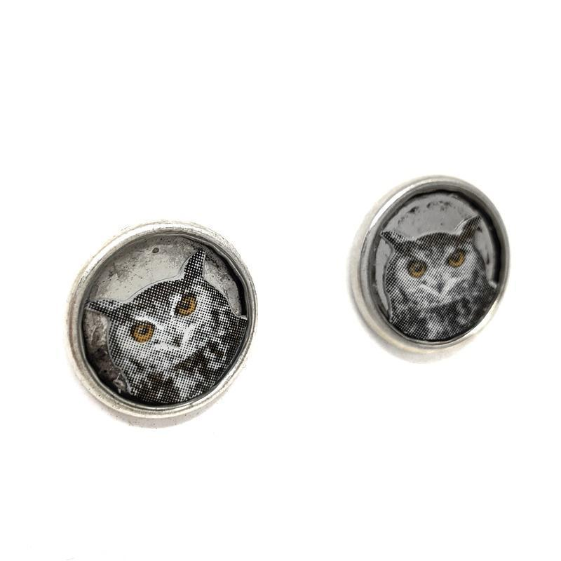 Earrings - Owl Studs by XV Studios