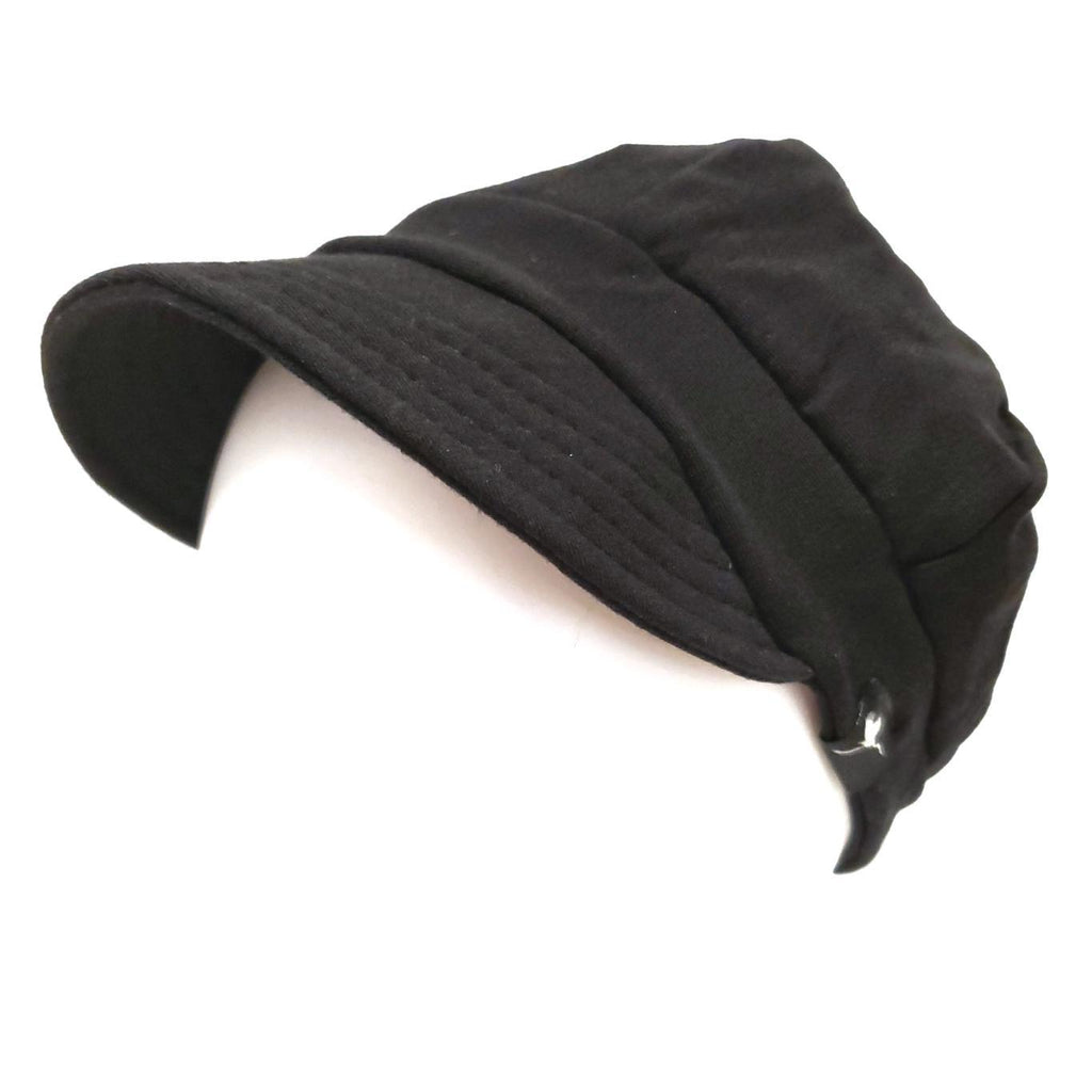 Fleece Weekender  - Bounty - Solid Black Hat by Flipside Hats