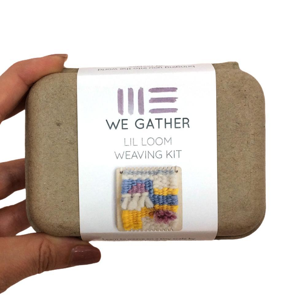 Lil Loom Weaving Kit by We Gather Goods