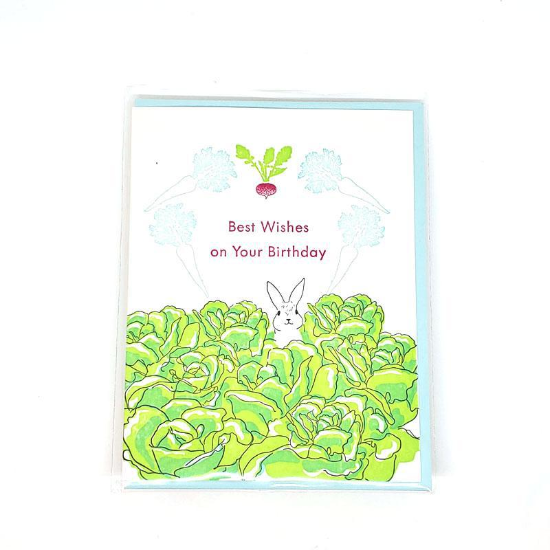 Card - Birthday - Rabbit Birthday Wishes by Ilee Papergoods