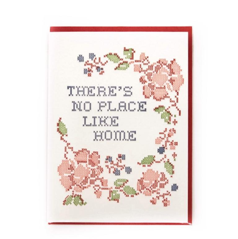 Card - Housewarming - Red No Place Like Home by Ilee Papergoods