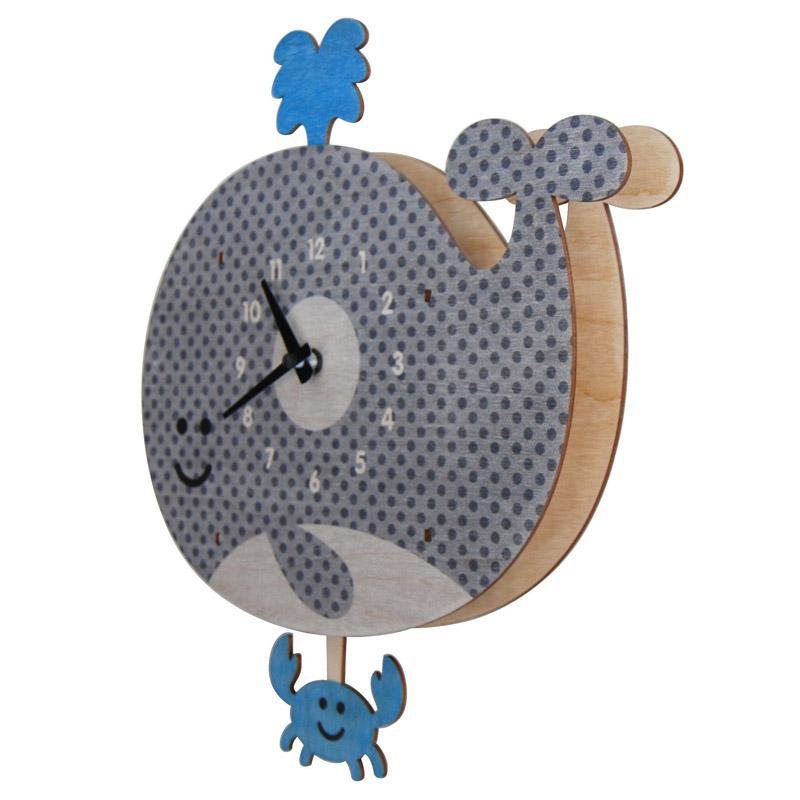 Clock - Whale Crab Pendulum by Modern Moose