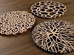 Coasters - Organics set of 6 by Five Ply Design