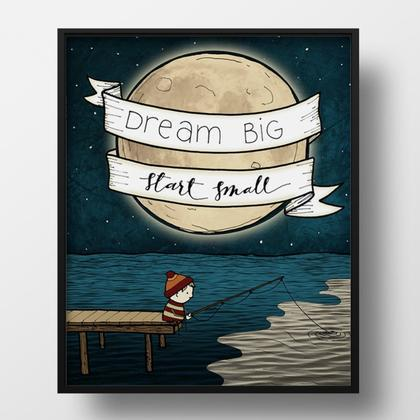 Art Print - Dream Big 5x7 by Red Umbrella