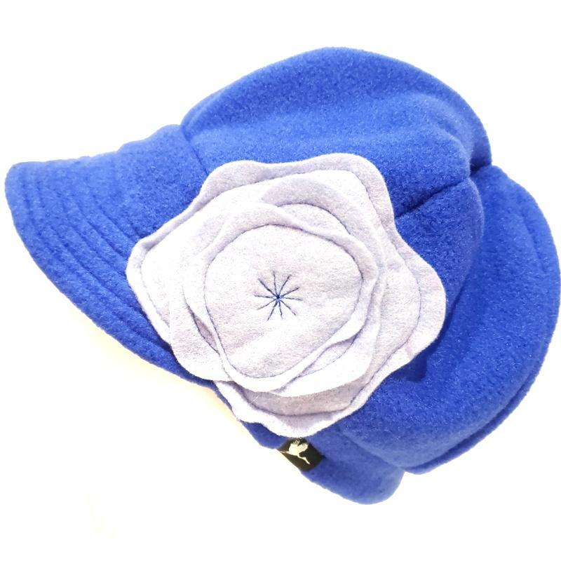Plush Weekender - Bluebell - Bright Blue Light Blue Flower by Flipside Hats