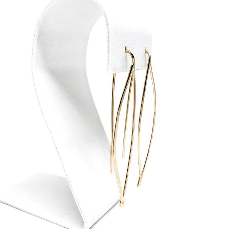 Earrings - Gold-fill Sage Leaf by VERSO