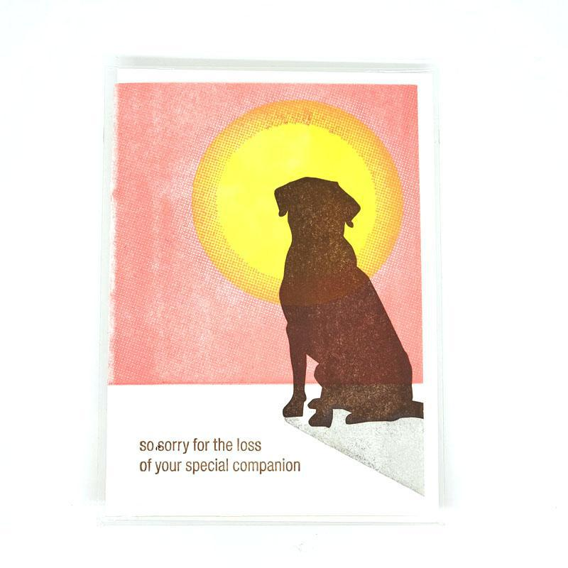 Card - Sympathy - Dog Loss by Ilee Papergoods