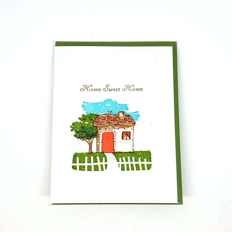 Card - Housewarming - Home Sweet Home by Ilee Papergoods