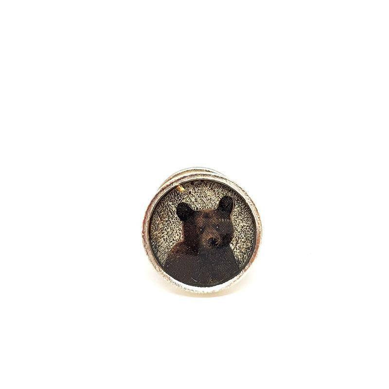 Lapel Pin - Bear Cub by XV Studios
