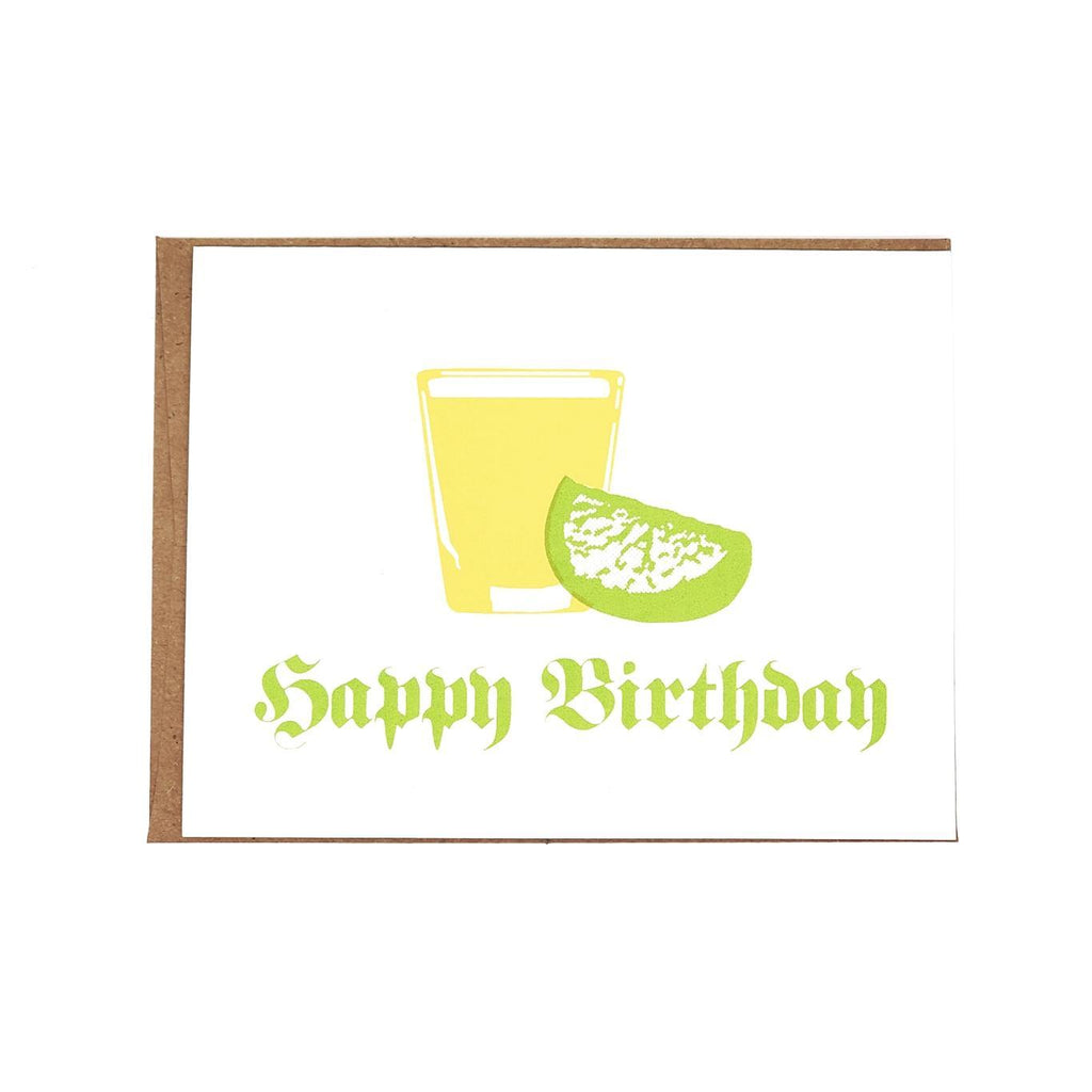 Card - Birthday Shot by Orange Twist