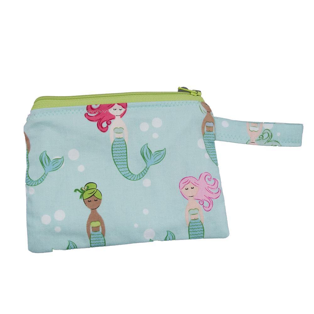Reusable Snack Bag - Mermaids by MarshMueller