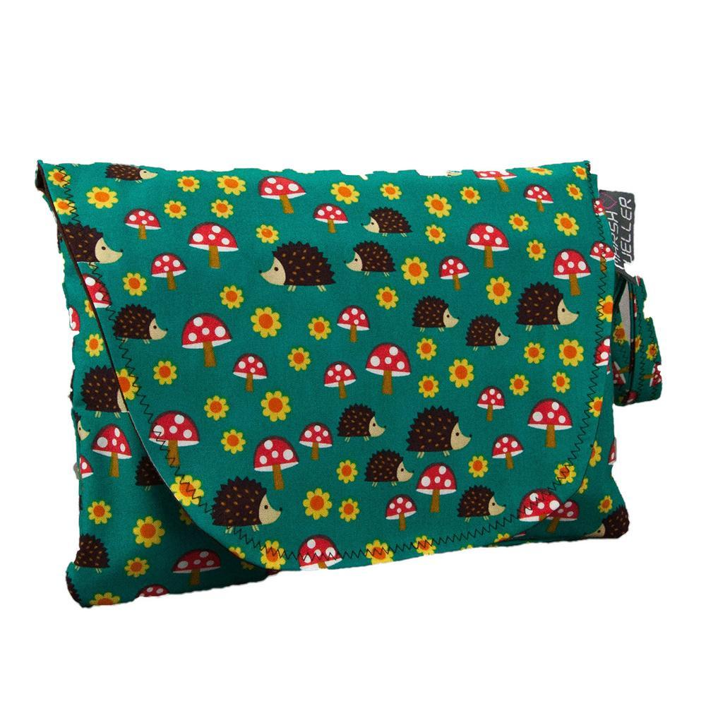 Diaper and Wipe Clutch - Hedgehogs by MarshMueller