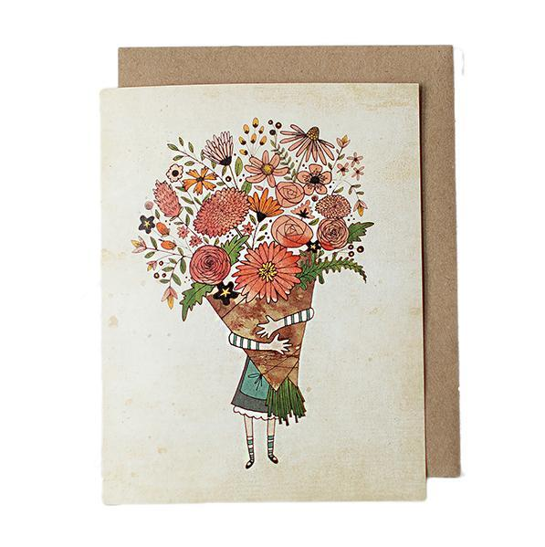 Card - Bouquet by Red Umbrella Designs