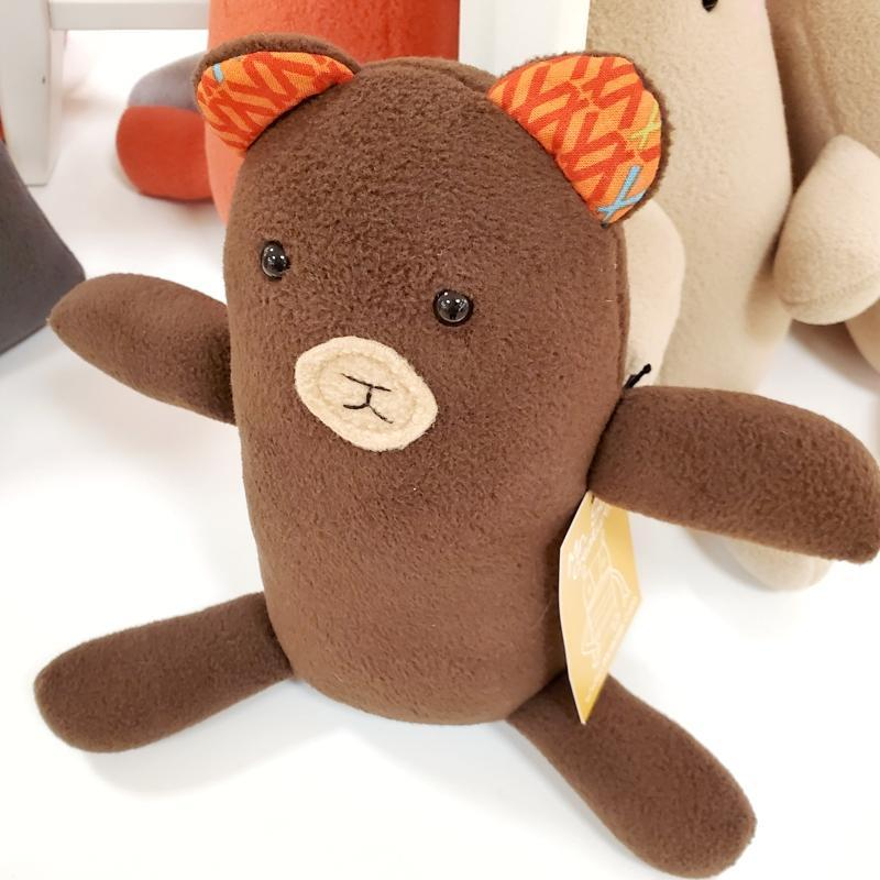 Woodland Creature - Bear Plush by Mr. Sogs