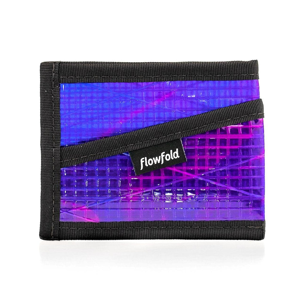 Wallet - Craftsman Three Pocket - Ultraviolet - by Flowfold