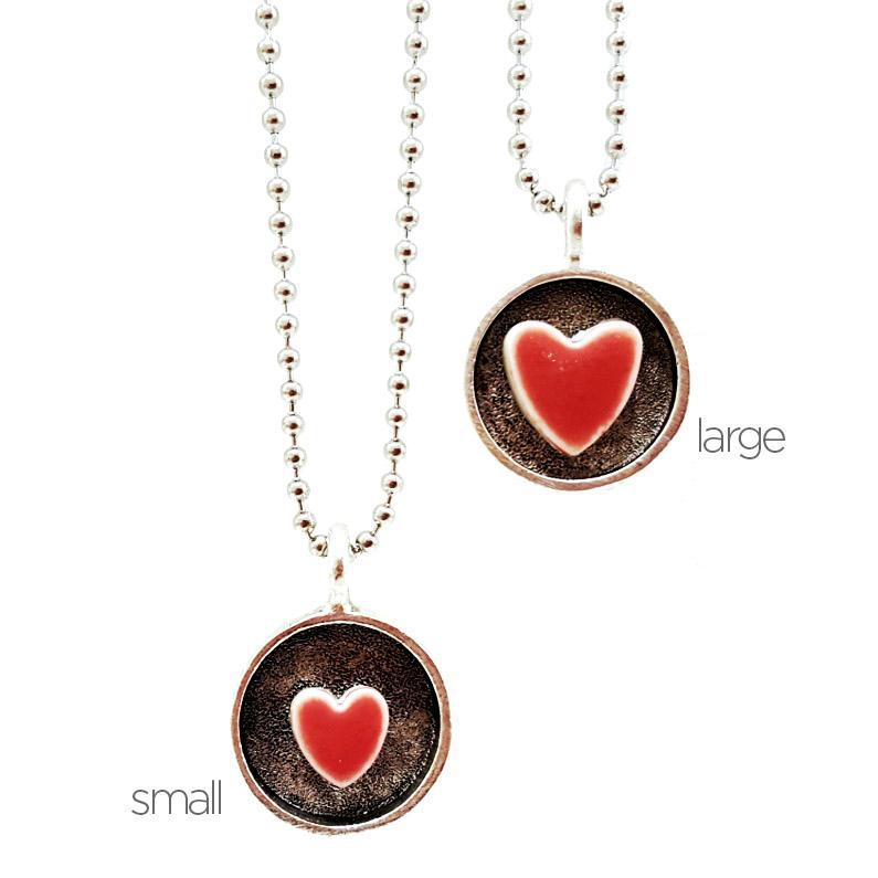 Sweet Heart Pendant (Large) by XV Studios