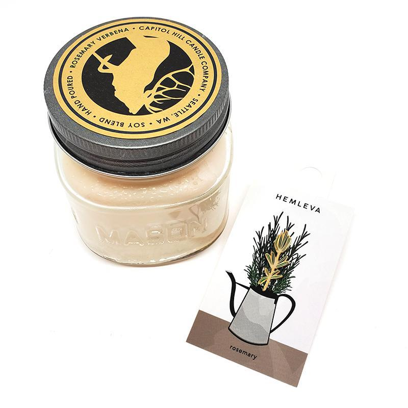 Gift Bundle - Rosemary Favorites featuring Capital Hill Candles and Hemleva