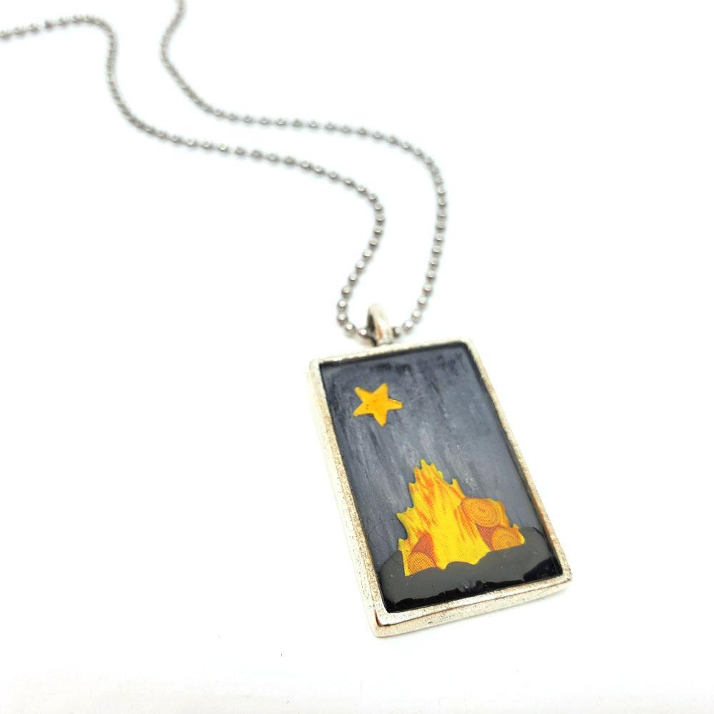 Necklace - Campfire Pendant by XV Studios