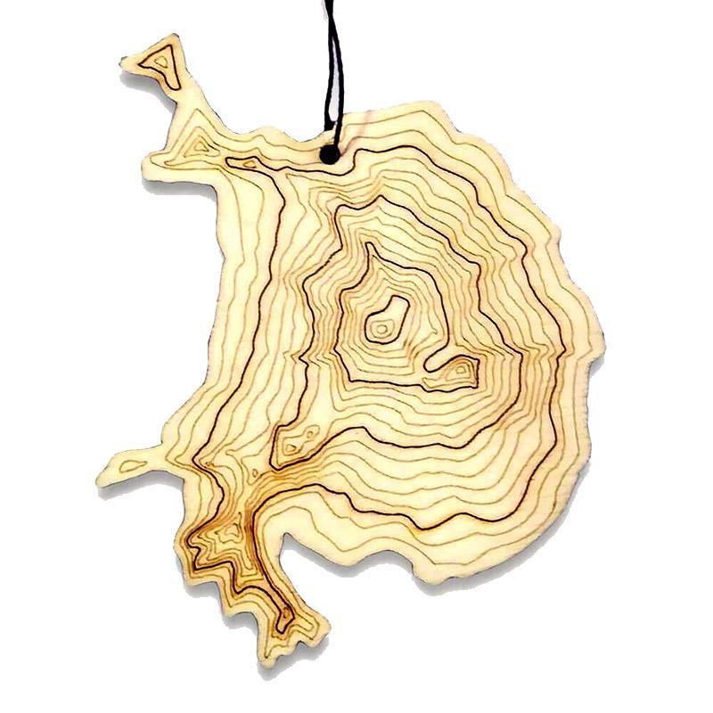 Ornament - Mt. Baker Topography by SML