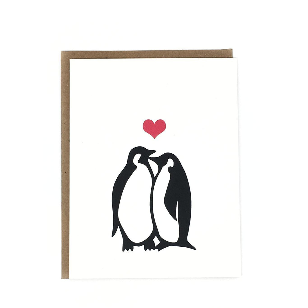 Card - Penguin Love by Orange Twist