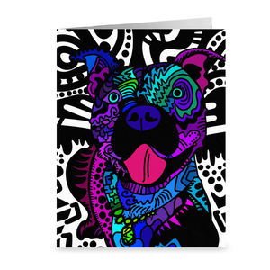 """Blue Nose"" Stationary Cards"