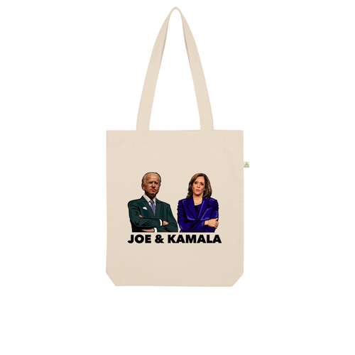 Joe & Kamala Organic Tote Bag