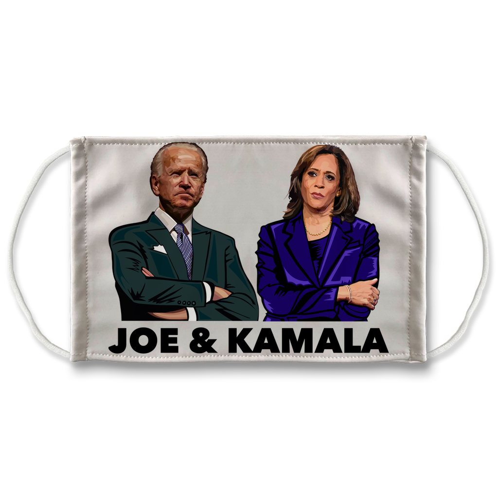 Joe & Kamala Face Mask