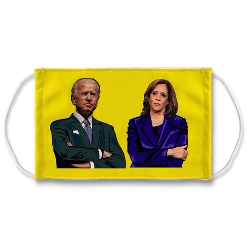 Kamala and Joe Face Mask