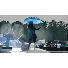 "Load image into Gallery viewer, ""Rain or Shine"" Prints"