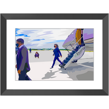 "Load image into Gallery viewer, ""Walking on Air (Force Two)"" Framed Prints"