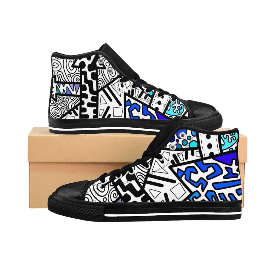 """Decisions"" High-top"