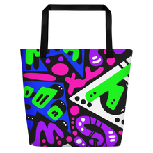 "Load image into Gallery viewer, ""Avicii"" Beach Tote"