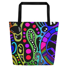 "Load image into Gallery viewer, ""Thrive"" Beach Tote"