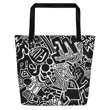 "Load image into Gallery viewer, ""Patience"" Beach Tote"