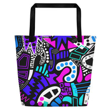 "Load image into Gallery viewer, ""Ha'awi"" Beach Tote"