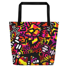 "Load image into Gallery viewer, ""Gasp"" Beach Tote"
