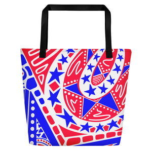 """Independence"" Beach Tote"