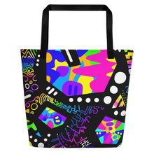 "Load image into Gallery viewer, ""Catastrophe"" Beach Tote"