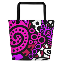 "Load image into Gallery viewer, ""Breakout"" Beach Tote"