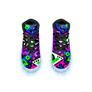 """Avicii"" GLOW High Top"