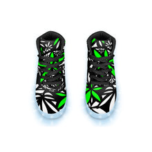 "Load image into Gallery viewer, ""Kush"" GLOW High Top"