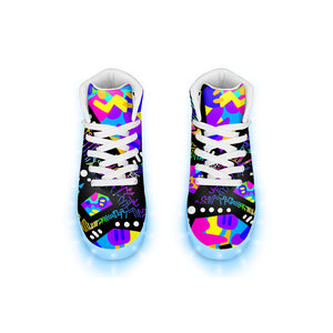"""Catastrophe"" GLOW High Top"