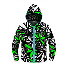 "Load image into Gallery viewer, ""Kush"" GLOW Hoodie"