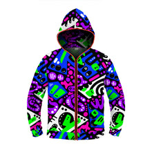 "Load image into Gallery viewer, ""Avicii"" GLOW Hoodie"
