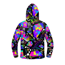 "Load image into Gallery viewer, ""Catastrophe"" GLOW Hoodie"
