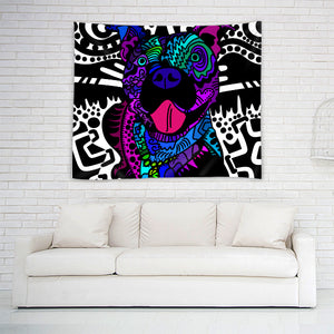 """Blue Nose"" Tapestry"
