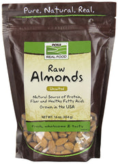 ALMONDS NATURAL UNBLANCHED UNSALTED